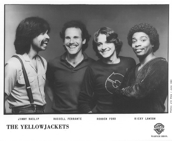 The Yellowjackets in 1981.