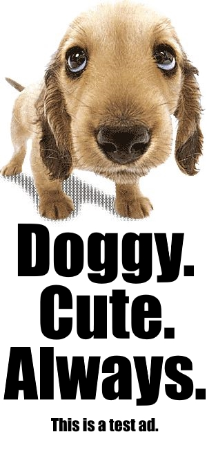 Doggy ad