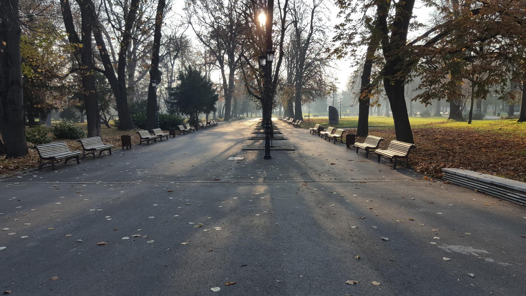 Yavorov boulevard park
